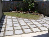 diy extending concrete patio with pavers | Patio pavers ...