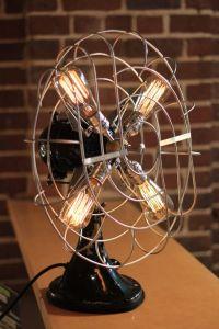 Fan Lamp - Large - GE Model | Vintage Fans, Edison Lamp ...