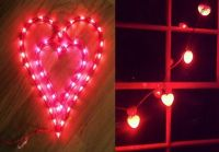 valentines light up window decorations