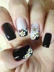 1000 ideas daisy nail art
