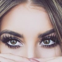 Wimpern, Mascara and Augen on Pinterest