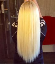 long platinum blonde hair extensions