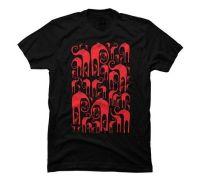 Elephant herd Men's Graphic T Shirt