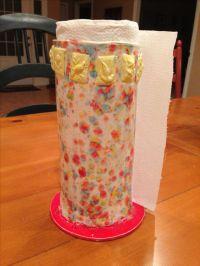 Ceramic paper towel holder | My Crafts | Pinterest ...