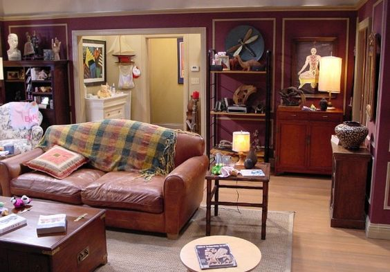 Image Result For Painting In Joey And Chandlers Apartment