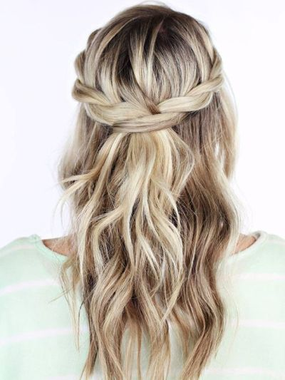 18 Hairstyles That Can Stand Up to Crazy Spring Weather via Brit + Co.: