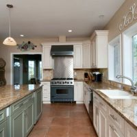 Tile floor kitchen, Floors kitchen and Terra cotta on ...