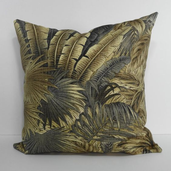 Tommy Bahama Designer Tropical Pillow Cover Decorative