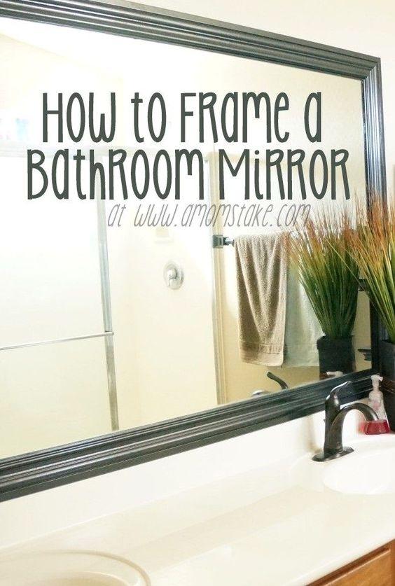 Mirr.Edge: Frames For Bathroom Mirrors