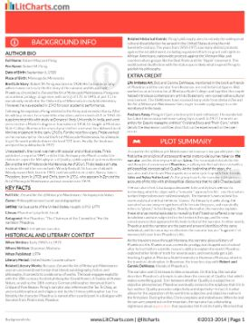 Frankenstein study guide Charts and Literary characters