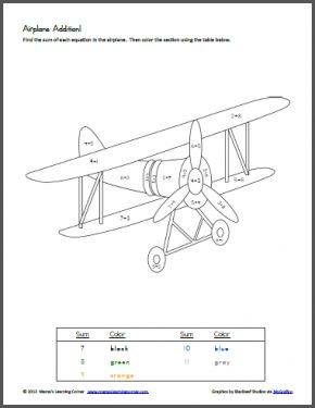 Colors, Number worksheets and Wright brothers on Pinterest