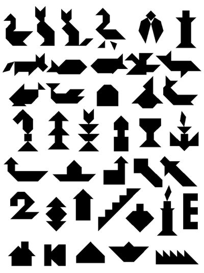 To solve your technology (#Tangram) puzzles and to take