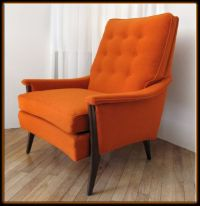 Details about 60s Mid Century Modern Kroehler Lounge Arm ...