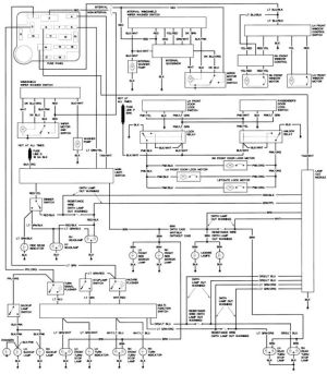 1990 Ford Steering Column Diagram | Repair Guides | Wiring