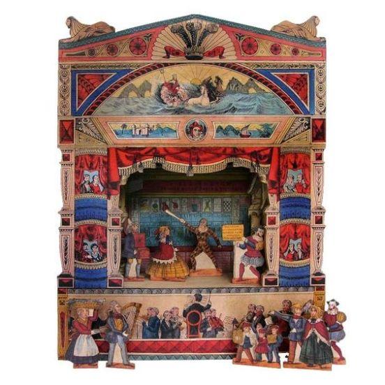 toy theatre: