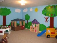 Toy room paint ideas