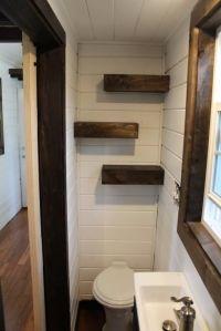 nice bathroom shelving ~ Tiny Heirloom Luxury Tiny House ...