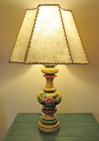 Spanish Colonial Revival, Monterey Style Table Lamp with ...
