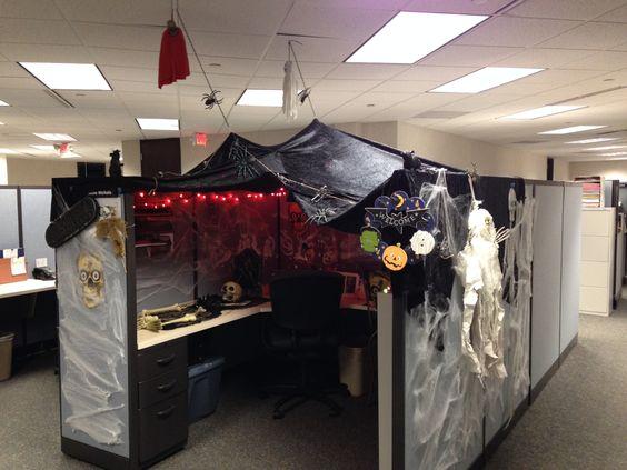 Office Decorating Ideas For Halloween Minimalist
