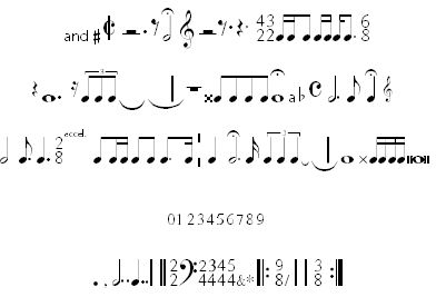 Fonts and Music on Pinterest