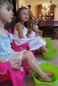 spa para niñas