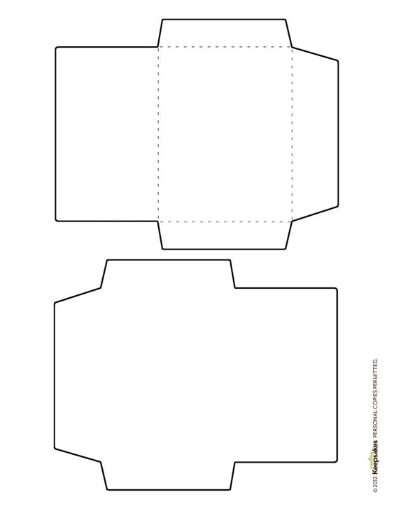 Free Envelope Template featured in the Sept/Oct 2012 issue