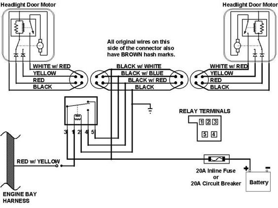 peterbilt 359 headlight wiring diagram white rodgers zone valve 67 camaro harness schematic | this is the 1967 diagram. 1968 ...