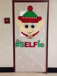 Elf Christmas door decorating contest! | Bulletin Boards ...