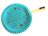 Paper plate guitar | Projects to Try | Pinterest | Guitar ...