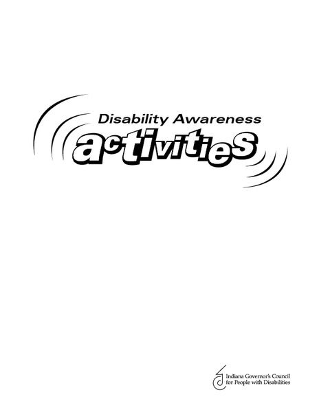 Different types, Activities and Disability awareness on