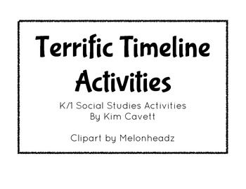 Create a timeline, Timeline and Social studies activities