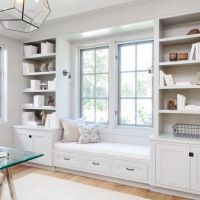 Window seats, Window and Built ins on Pinterest