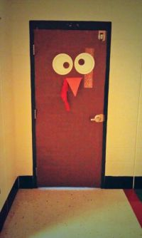 Classroom door decoration for Thanksgiving and Turkey Day ...