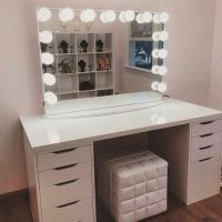 Vanity Table With Mirror And Bench Ikea  Nazarm.com