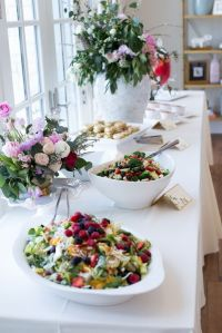 Inside a Top Fashion Blogger's Elegant Baby Shower | Baby ...