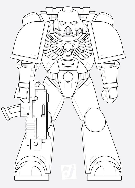 Art, Templates and Space marine on Pinterest
