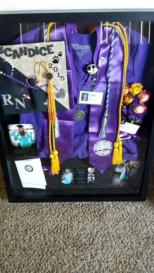Nursing shadow box   my nursing  Pinterest  Be cool Graduation and Things to do