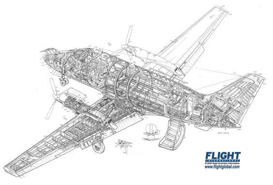 British aerospace, Cutaway and British on Pinterest