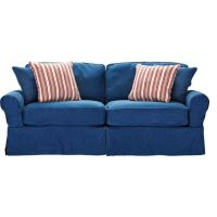 blue couches by ashley furniture