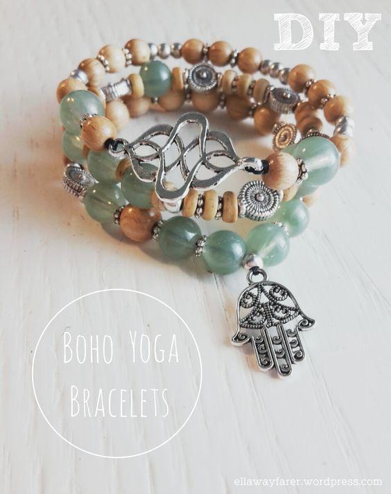 DIY: Boho Yoga Buddha Bracelets for the perfect hippie and bohemian style:
