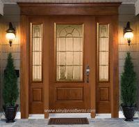 Cheap Entry Doors with Side Lights | Fiberglass Entry Door ...