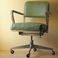 Green Office Chair by Modish Vintage @ fab.com.