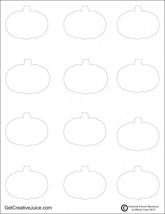 Pumpkins, Templates and Printable templates on Pinterest