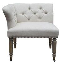 twin corner chair - vanity chair??   Bathroom   Pinterest ...