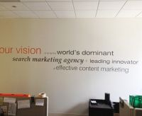 wall signage cut vinyl letters wall graphics wall decals ...