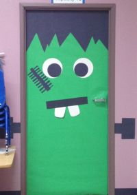 Decoration, Frankenstein and Doors on Pinterest