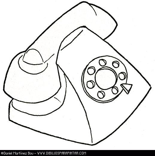 medios de comunicacion para inicial colorear medios de