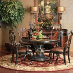 Kitchen Hutch Buffet 3 Hole Faucet Grandover Round Dining Set | Hemispheres - A World Of Fine ...