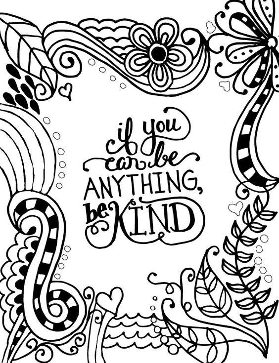 Displaying If-You-Can-Be-Anything-Be-Kind-Coloring-Page
