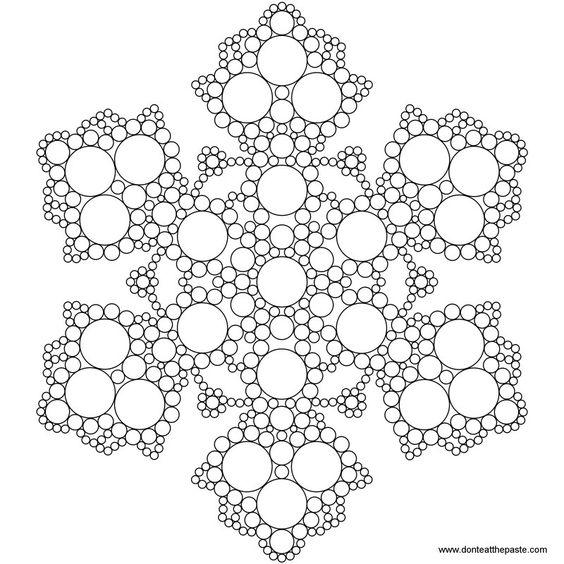 Mandalas, Mandalas to color and Snowflakes on Pinterest